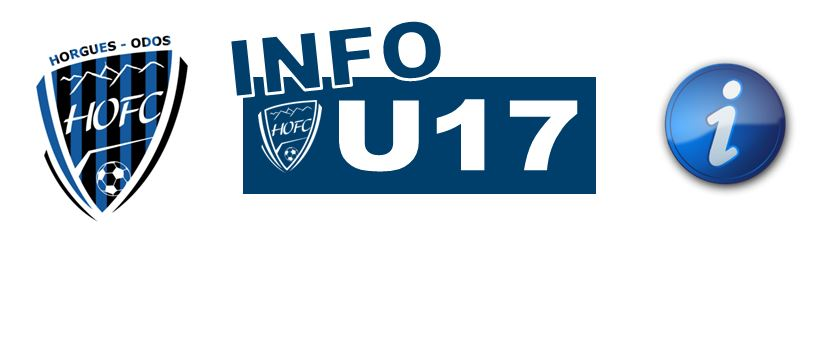 HOFC > HORGUES ODOS FOOTBALL CLUB : Info U17