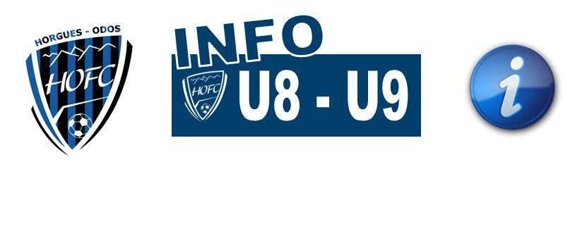 [U8/U9] Entraînement et plateau annulés