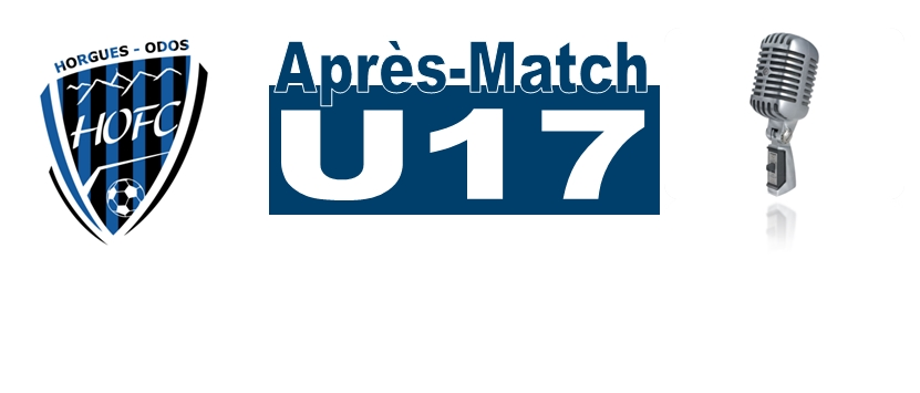 [U17] Notre equipe U17 cartone encore…