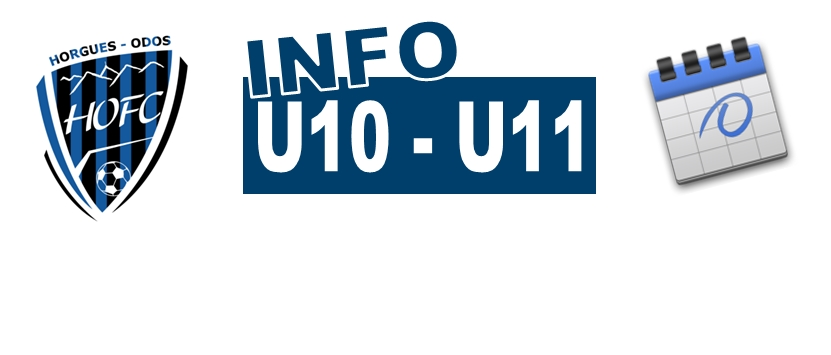 [U10/U11] Les poules du Criterium connues