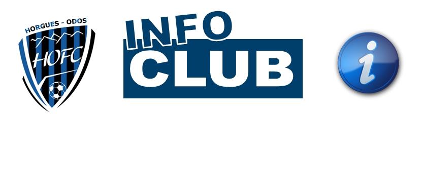 [CLUB] Suspension des activités