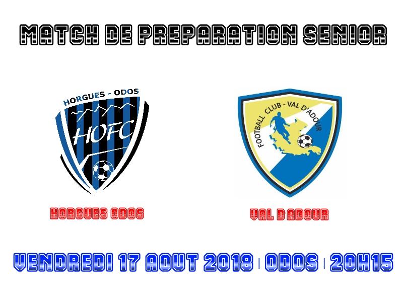 [SEN] Match de préparation face au Val d'Adour