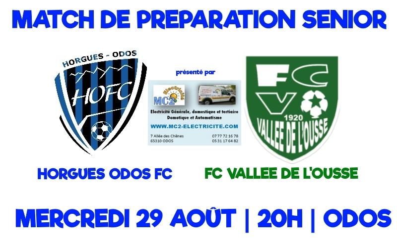 [SEN] Match de préparation face au FC Vallée de l'Ousse
