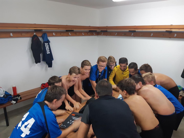 [U13] M.Marchal :»Nous avons joué en équipe»