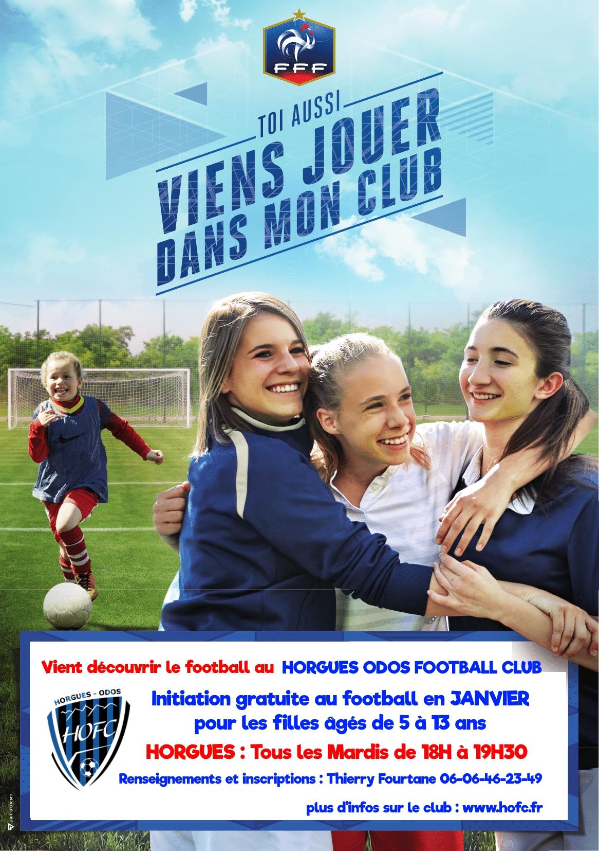 [EDF] Initiation gratuite au football pour les filles