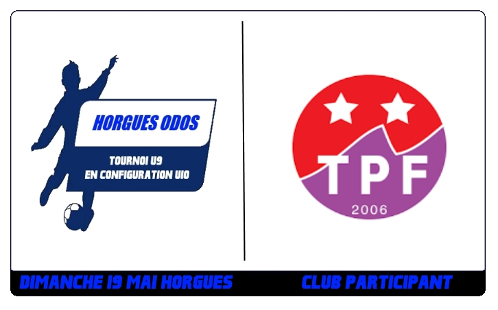Tournoi U9 – Le TPF sera présent