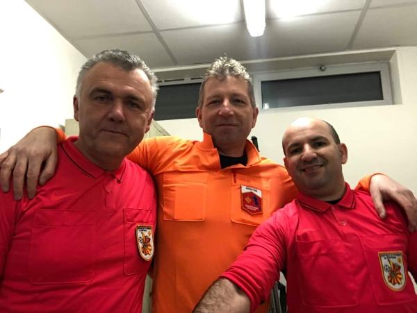 Arbitre – Merci à Thierry, Philippe et Danny