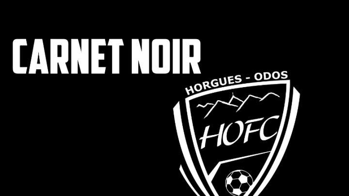 Carnet noir – Le HOFC en deuil