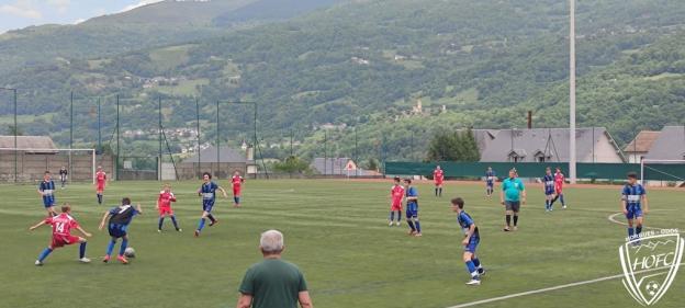 [U15] FCPVG – HOFC Match Amical en images